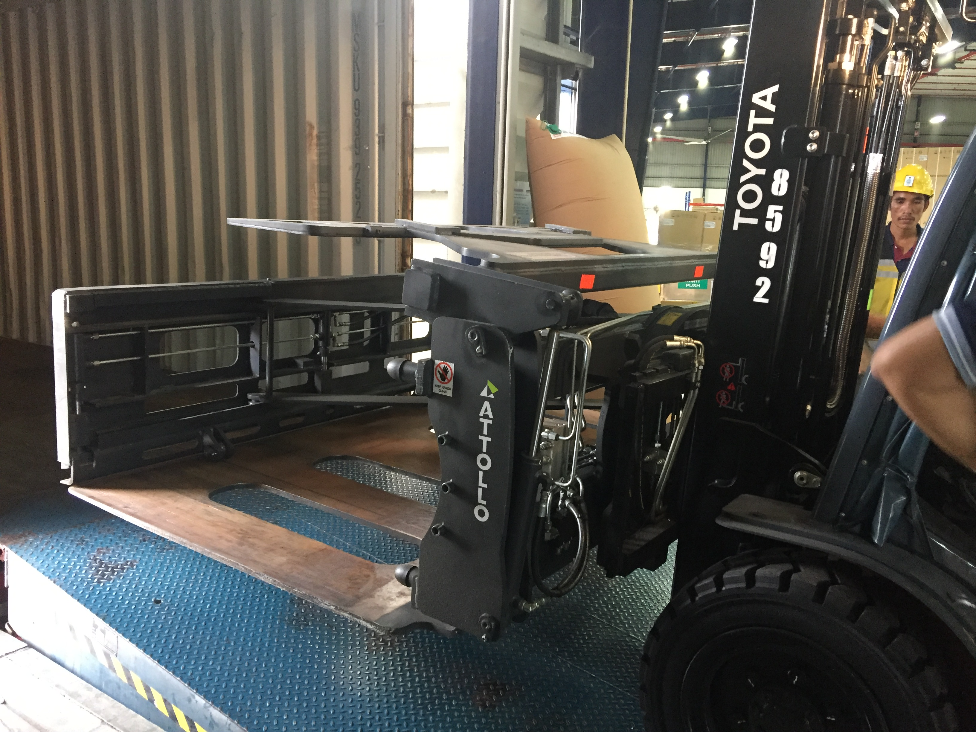 KAUP maximises shipping container capacity