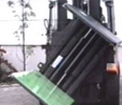 Rotating bale clamp example