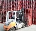 Multi pallet handler with load stabiliser