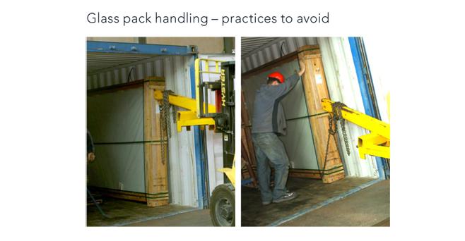 Glass Pack Handler