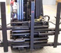 Telescopic carton / appliance clamp example