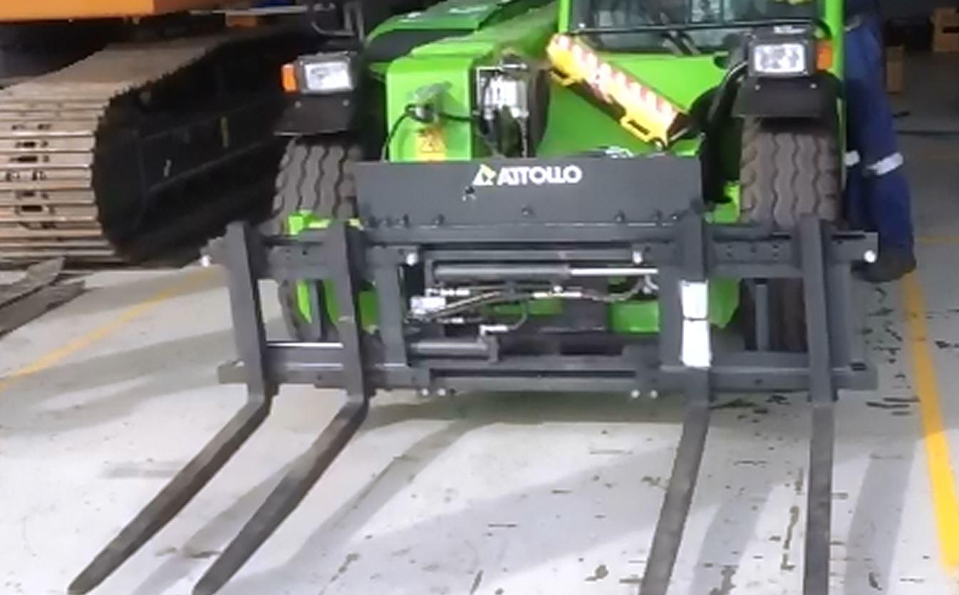 Brick carriage to suit Telehandler